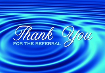 Thank You For Referral