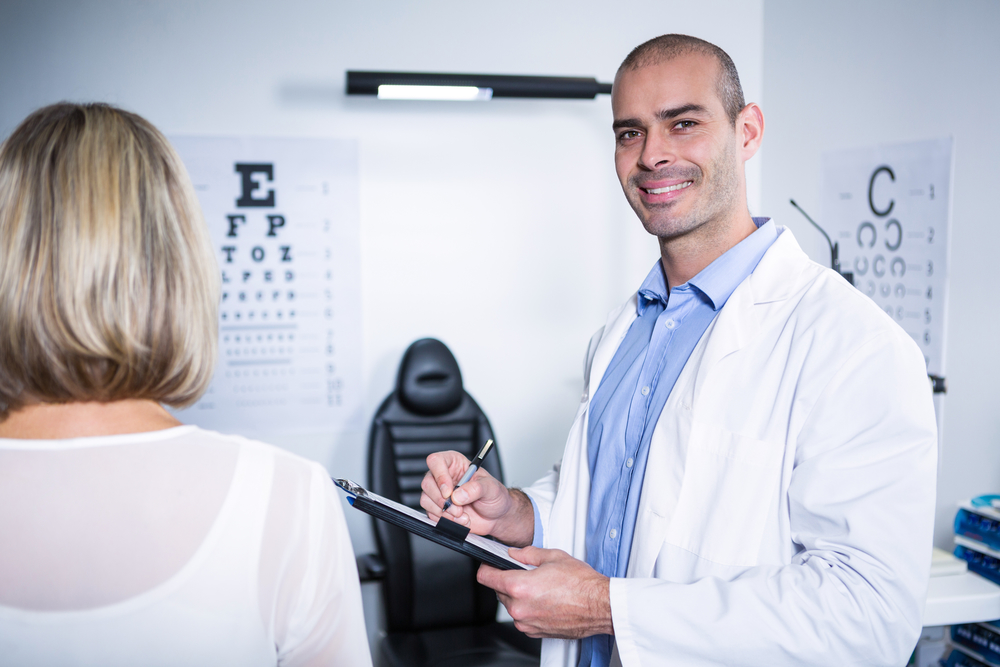 How To Get More Optometry Patients - Eye Doctor With Patient